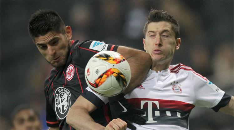 Eintracht Frankfurt: 2 - Bayer Leverkusen: 1 (Maç sona erdi) 100