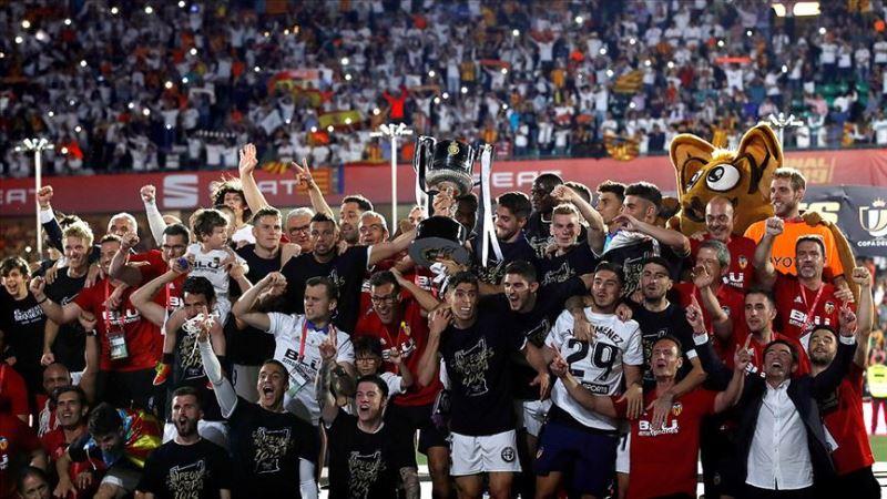 İspanya'da kupa Valencia'nın