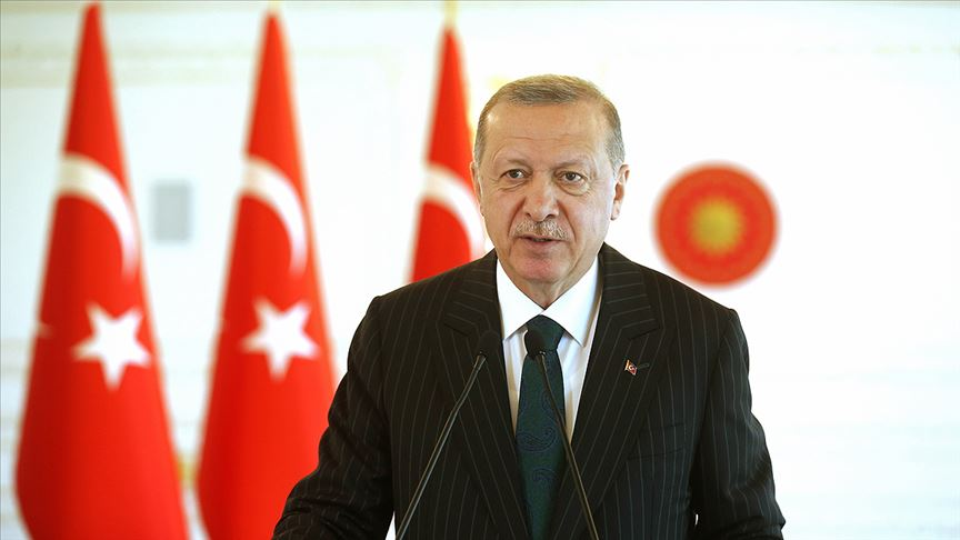 Erdoğan, Haiti Cumhurbaşkanı ile görüştü