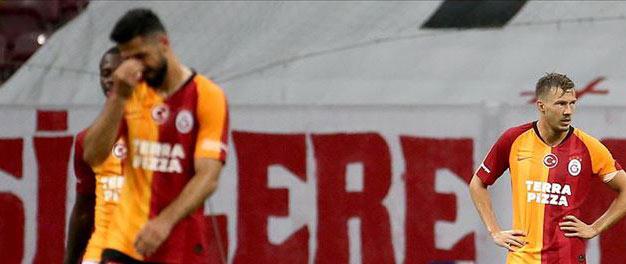 Galatasaray'ın galibiyet hasreti 6 maça çıktı