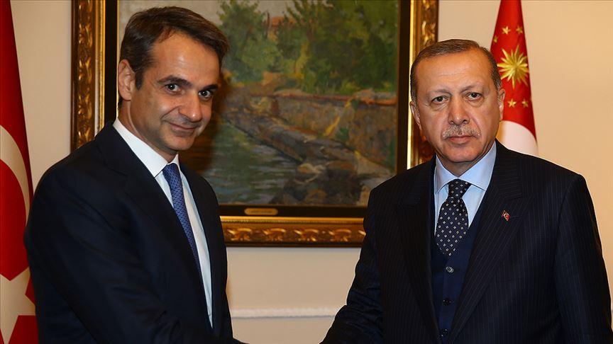 Erdoğan, Yunanistan Başbakanı ile görüştü